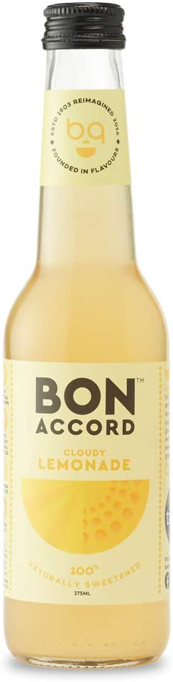 6 x Cloudy Lemonade Mixer - Bon Accord 275ml