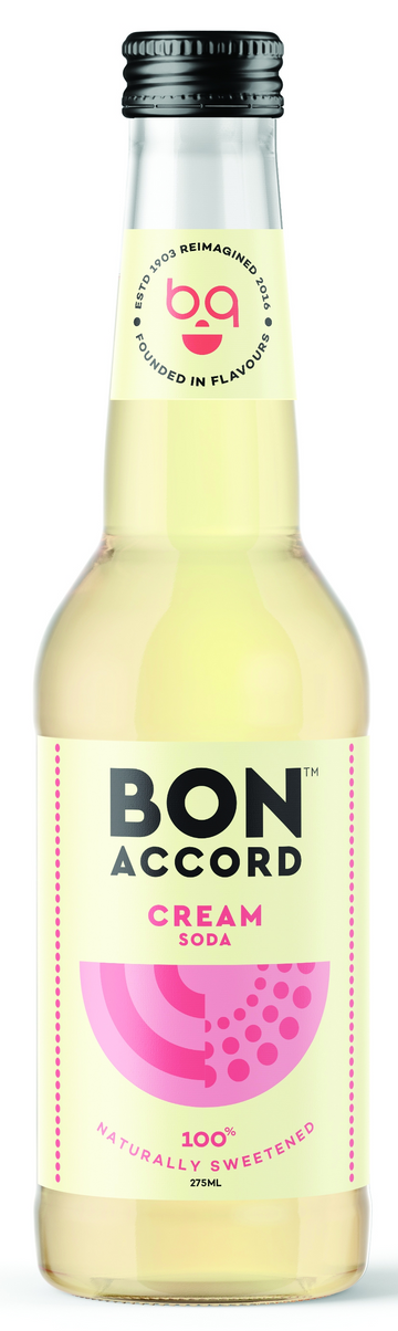 6 x Cream Soda Mixer - Bon Accord 275ml