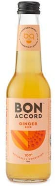 6 x Ginger Beer Mixer - Bon Accord 275ml