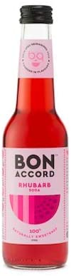 6 x Rhubarb Soda Mixer - Bon Accord 275ml