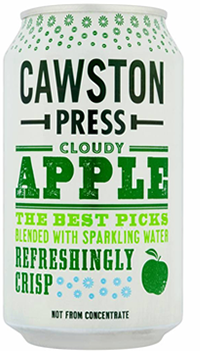 6 x Cawston Press Cloudy Apple  Beverage - 330ml