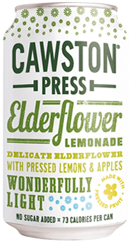 6 x Cawston Press Elderflower Lemonade - 330ml
