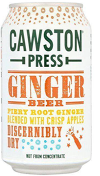 6 x Cawston Press Ginger Beer Beverage - 330ml
