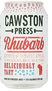 6 x Cawston Press Rhubarb Beverage - 330ml