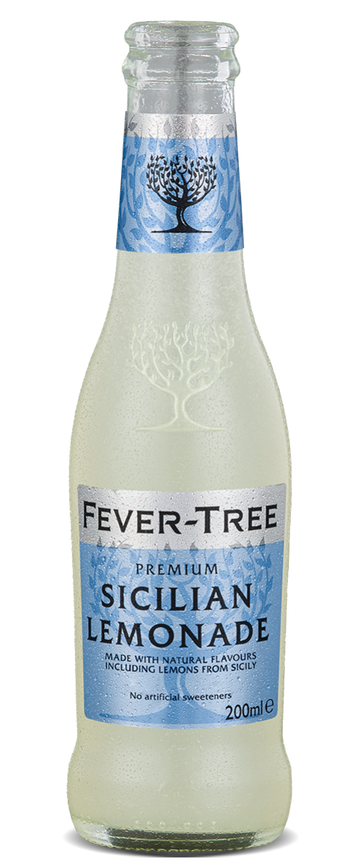 6 x Sicilian Lemonade Mixer - Fever-Tree 200ml