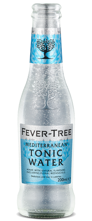 6 x Mediterranean Tonic Water Mixer - Fever-Tree 200ml