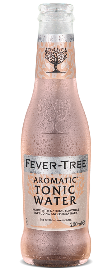 6 x Aromatic Tonic Water Mixer - Fever-Tree 200ml