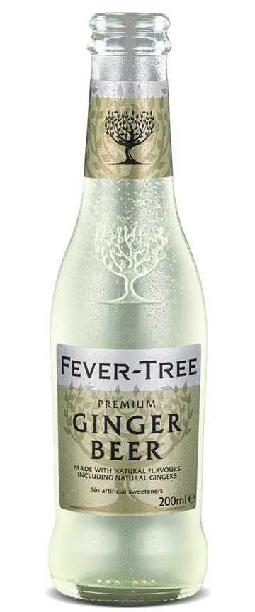 6 x Ginger Beer Mixer - Fever-Tree 200ml