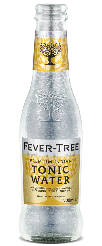 6 x Indian Tonic Water Mixer - Fever-Tree 200ml