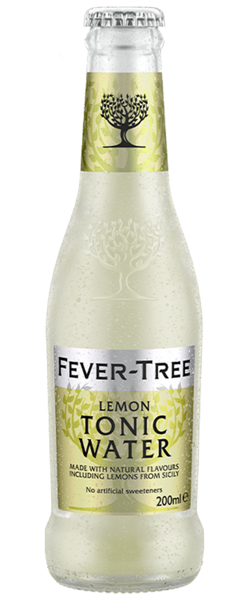 6 x Lemon Tonic Water Mixer - Fever-Tree 200ml