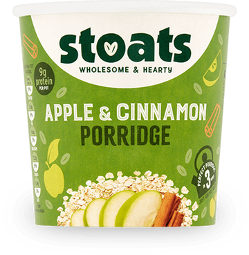 Stoats Porridge Pot - Apple & Cinnamon