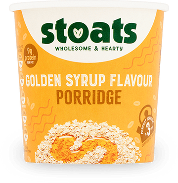 Stoats Porridge Pot - Golden Syrup