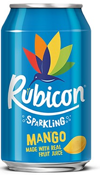 6 x Rubicon Sparkling Mango beverage  - 330ml