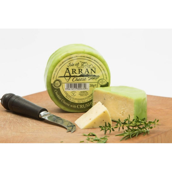 Herb Infused Waxed Cheddar - Arran Cheese 200g