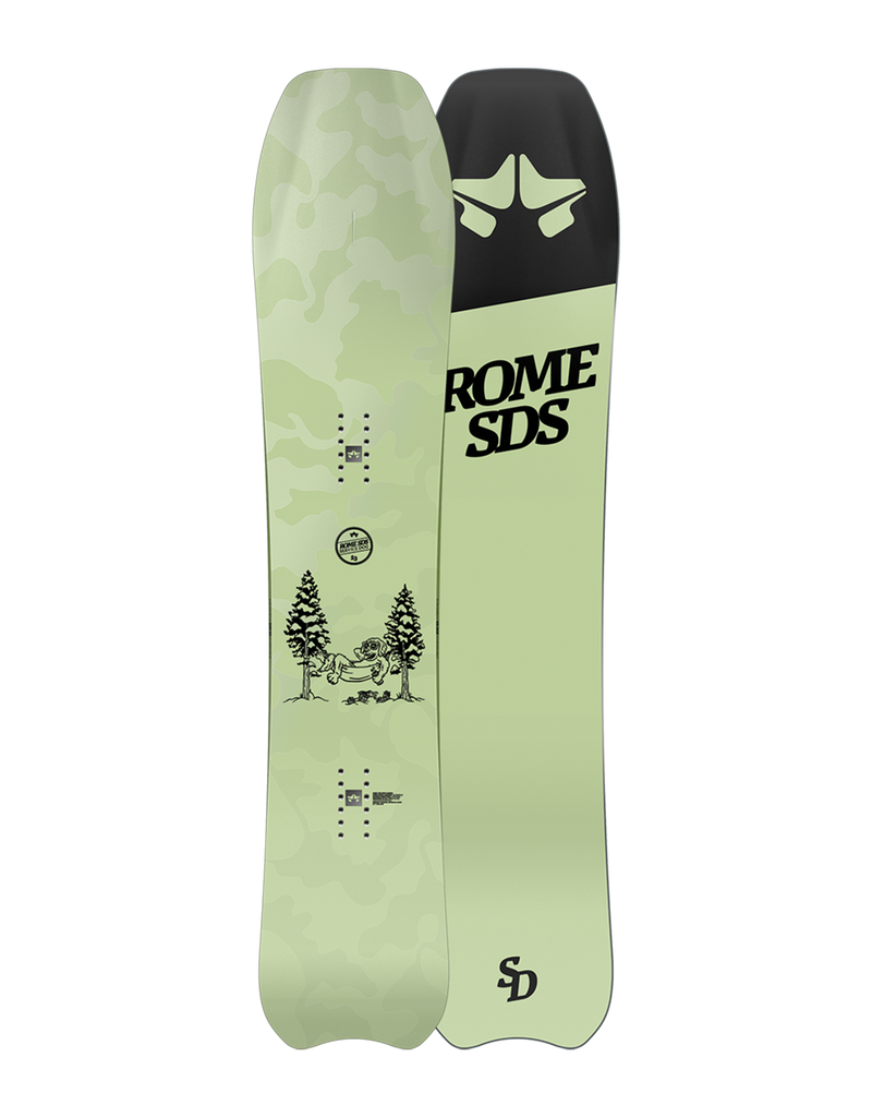 Rome Service Dog snowboard 2020 - 2021 by rome snowboards