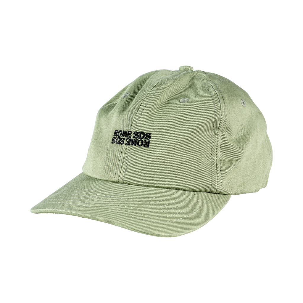 Rome Green Dad Cap 2020 2021 by rome snowboards