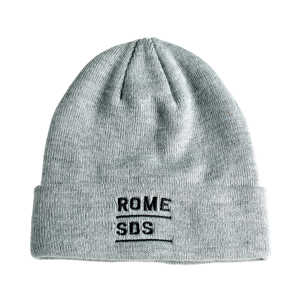 snowboard beanie grey Stacked Beanie rome SDS beanie 2020 2021 by rome snowboards