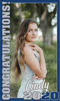 Senior Door Banner - Brittney Design