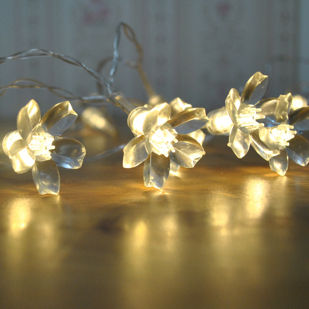 20LED 2 metres USB Powered Warm White LED Cherry Blossom Fairy Lights