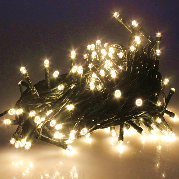 Waterproof Outdoor 100-1000LED Warm White Christmas String Fairy Lights