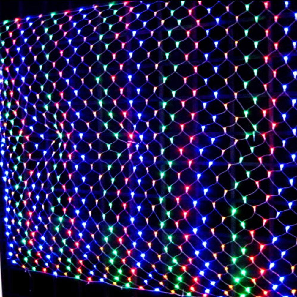 Indoor Outdoor 120/320LEDs Multi Colour Net Fairy Lights