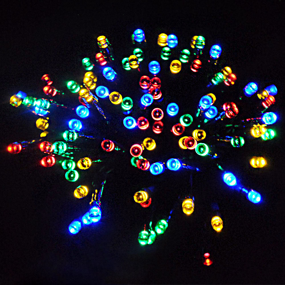 Waterproof Outdoor 100-1000LED Multi Colour Christmas String Fairy Lights