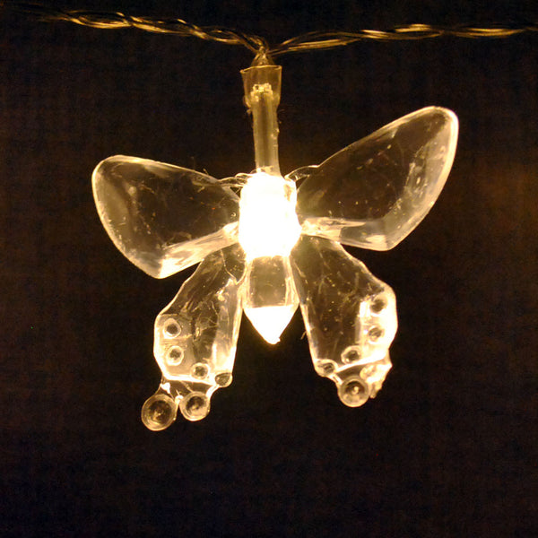 Battery Powered Warm White Butterfly 20/40LEDs Fairy Lights