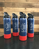 32 ounce - BECKMAN WATERPOLO laser engraved sport bottle