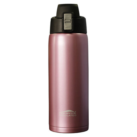 Rose Gold 21 oz Thermal Double Insulated Vacuum Sealed Sports Bottle Flip Top