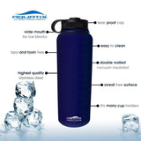 41 oz Thermal Double Insulated Vacuum Sealed Sports Bottle