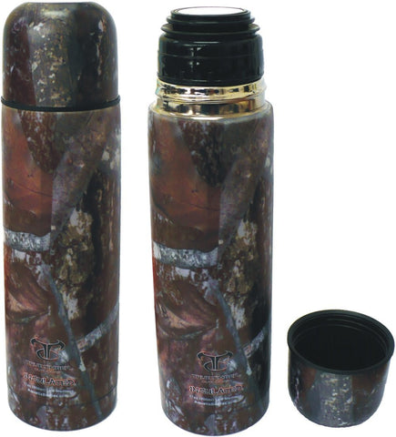 17 oz True Timber Camo Thermal Vacuum Sealed Double Insulated Sports Bottle