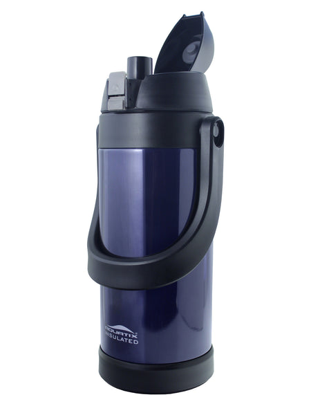 Extra Large (68 oz) Midnight Blue Thermal Vacuum Sealed Double Insulated Sports Thermos