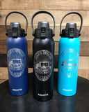 32 ounce - Tustin Police Laser Engraved Sport Bottle