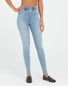 20275R Ankle Skinny Jeans, Light Vintage Wash