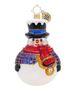 Jolly All A-Round Snowman!