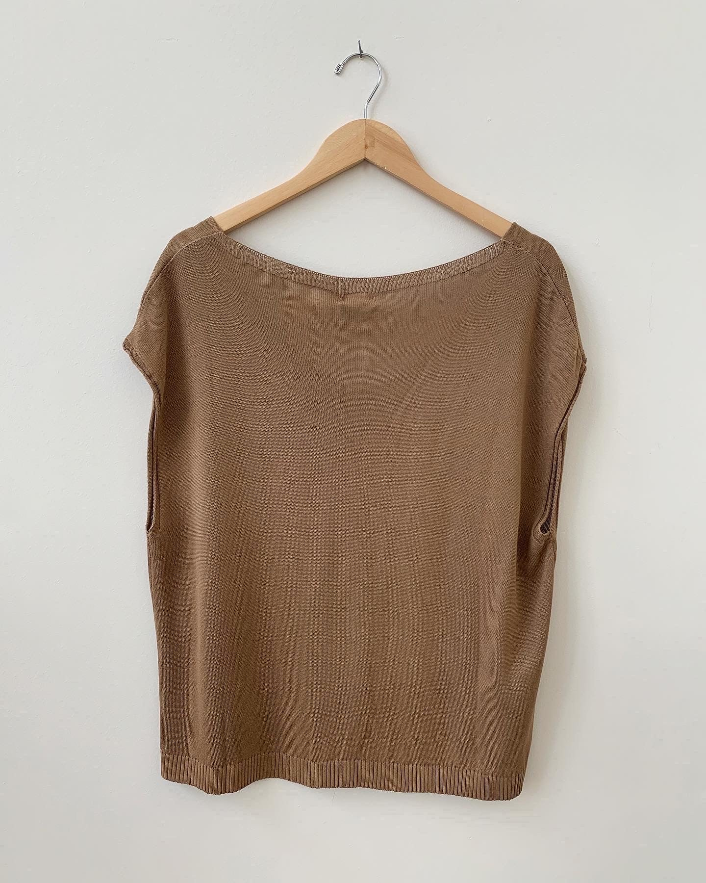 Frida Top - Camel