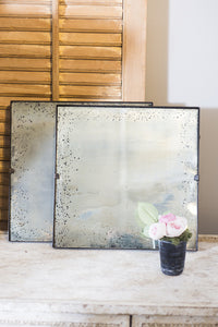 Antiqued Mirror