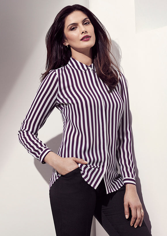 Womens Verona Long Sleeve Blouse