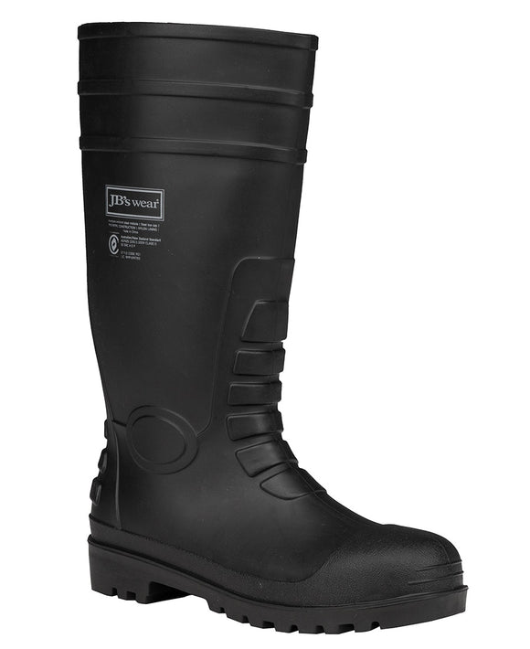 CAP AND STEEL PLATE GUMBOOT STEEL TOE