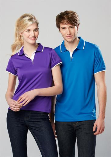 Mens Biz Cool Miami Polo