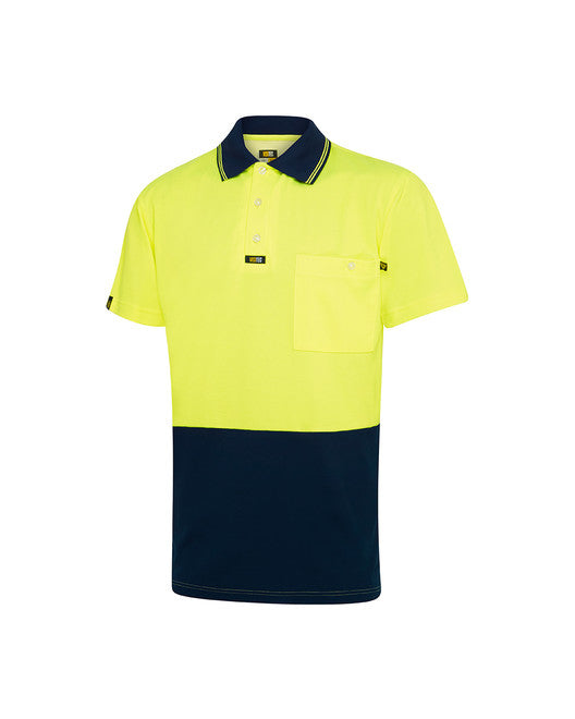 Cotton Backed Microfibre Premium Polo