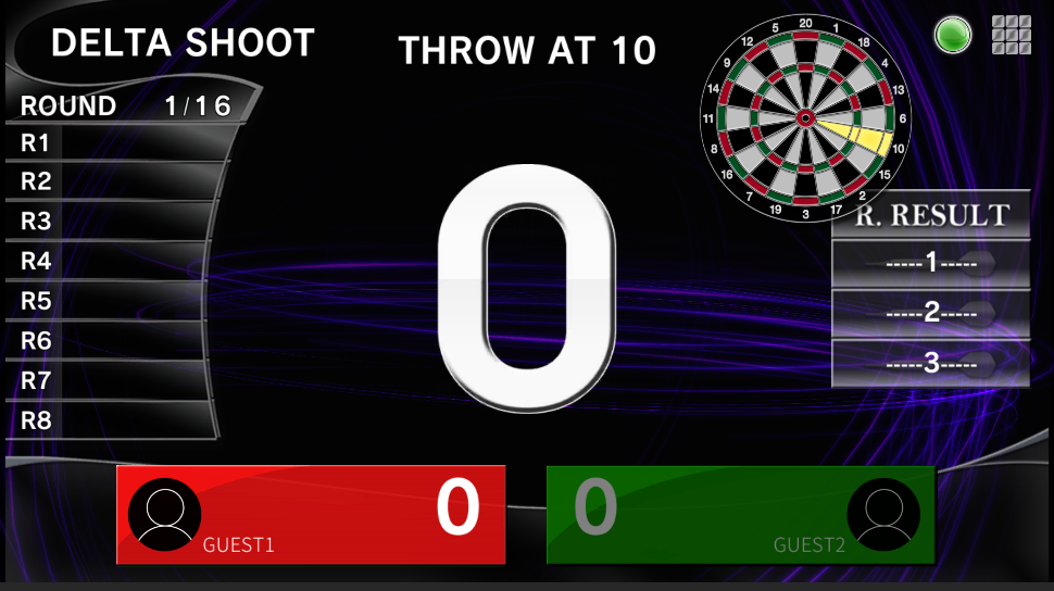 How to Play Delta Shoot darts game. GranBoard