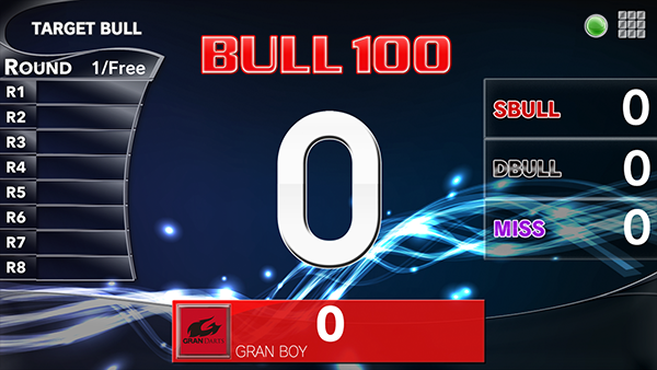 How to play Target Bull dart game. granboard