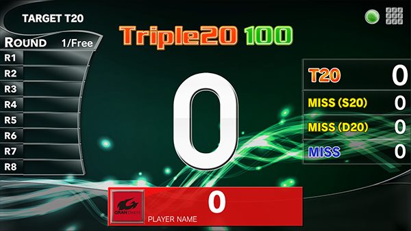 How to play Target T20 darts game. GranBoard