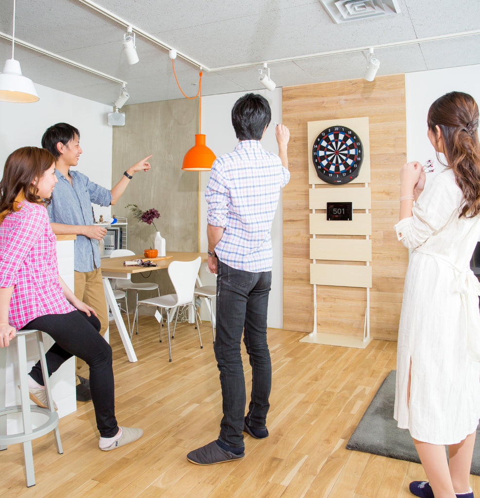 play darts at home on the granboard dash electronic dartboard. グランボードdash