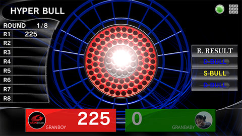 How to Play Hyper Bull darts game. GranBoard