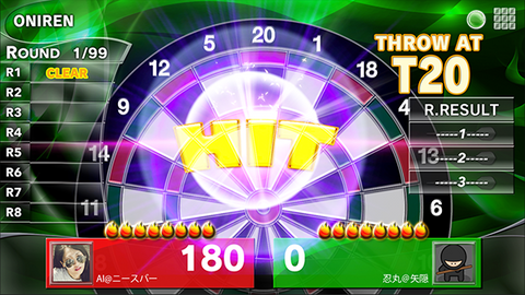 How to Play Oniren dart game, granboard