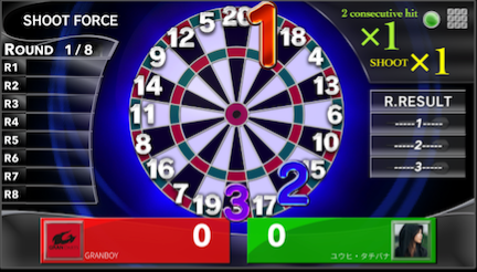 How to play Shoot Force darts game. granboard