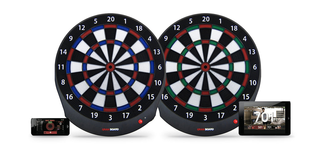 granboard dash electronic dartboard available in 2 colors. グランボードdash