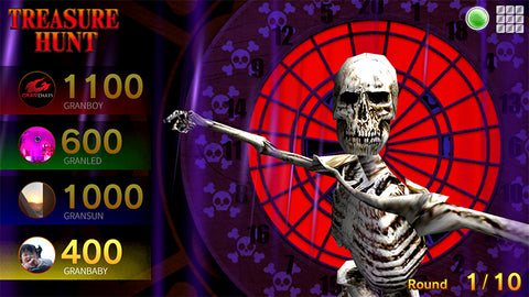 How to Play Treasure Hunt darts game. GranBoard